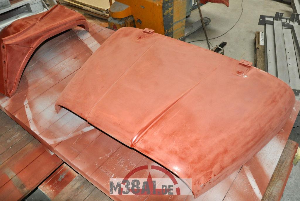 New MD JUAN Body Kit sanding before painting