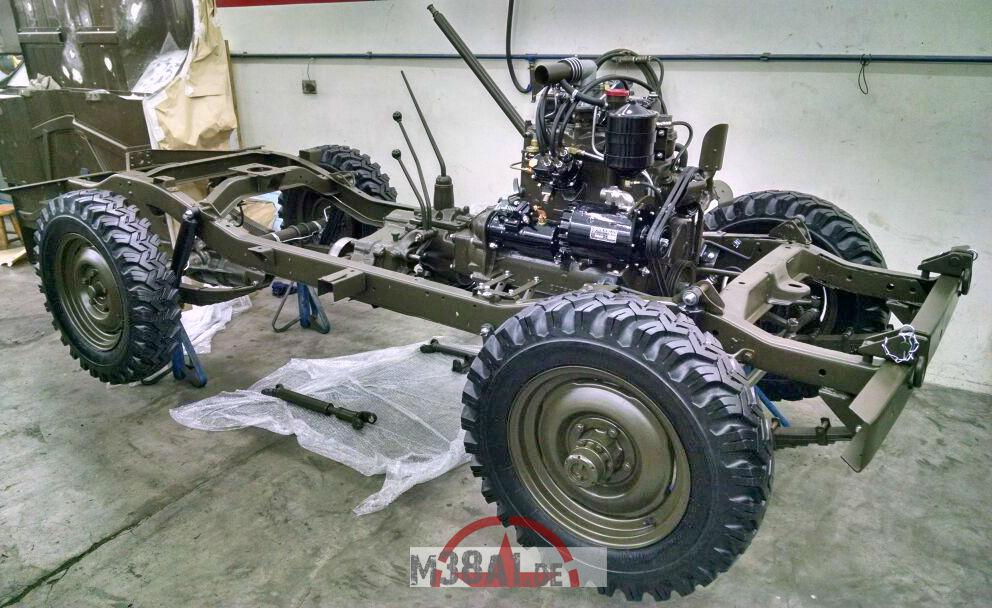 1958 Willys Jeep M38A1 von Claudio Malzone, 29.12.17
