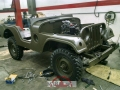 1958 Willys Jeep M38A1 von Claudio Malzone, 29.12.17