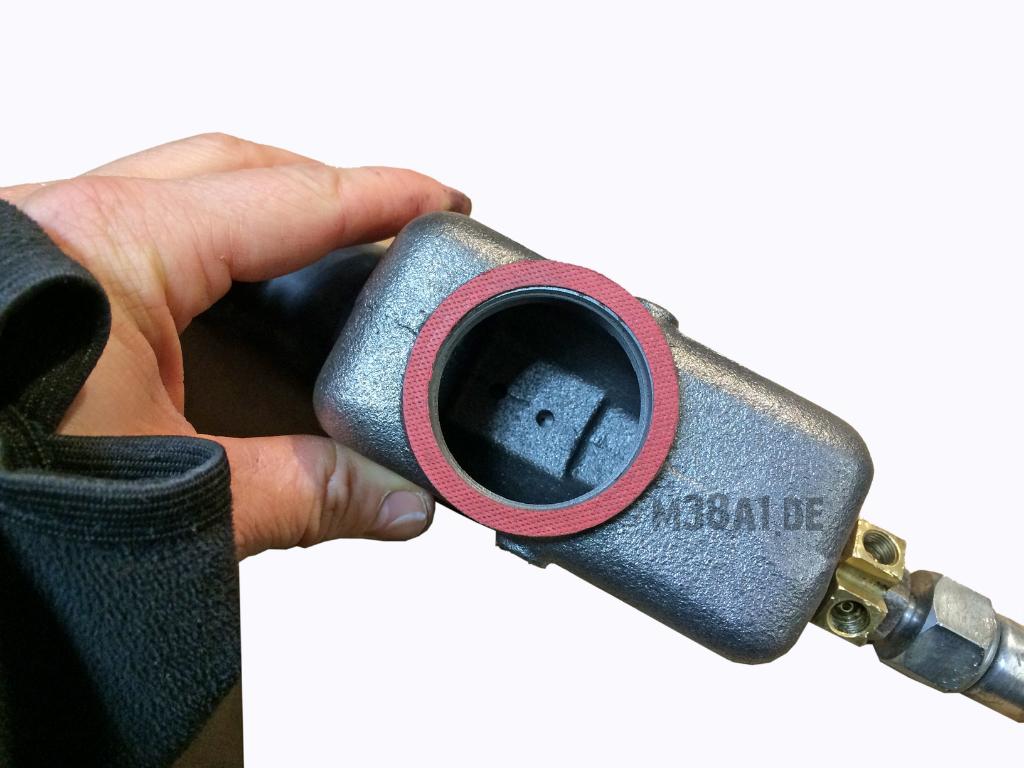Bremszylinder neu