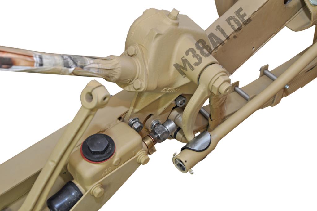 Lenkschubstange am Pitman Arm montiert