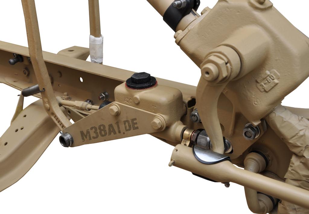 Lenkgetriebe mit Pitman Arm