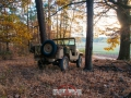 Willys in the woods in fall 2018, November 07th