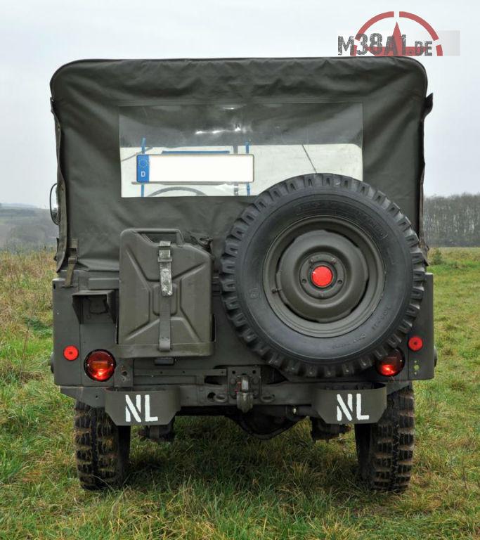 Willys Jeep M38A1 NEKAF (NL) Eric Müller