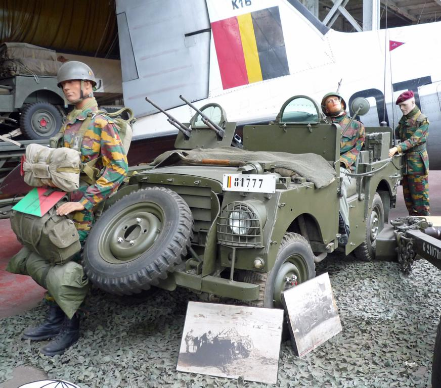 """Willys Jeep MB Paratroopers """"SAS"""""""