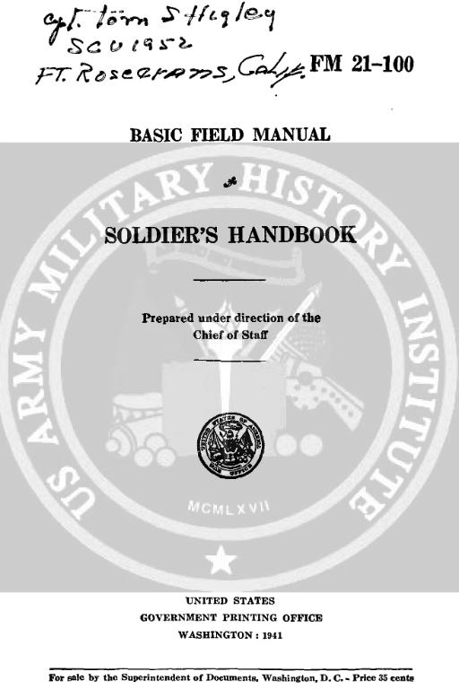 field manuals | www m38a1 de