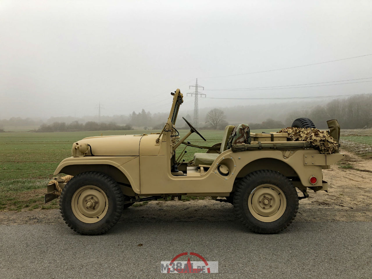 Restoration Of A Willys Jeep M38a1 1 4 Ton 44 1953 Military Find Us On Social Media